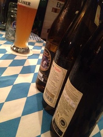 Bavaria German Restaurant: a few we tried from the plethora of choices, each one delicious!