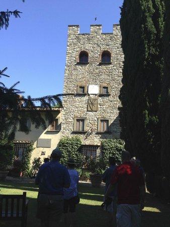 Castello di Verrazzano: Castella di Verazzano