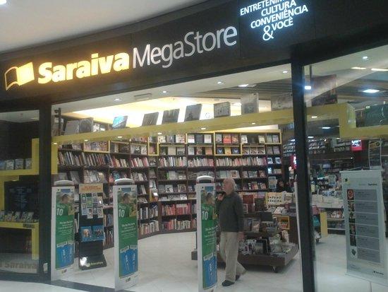 3feecb88bc Loja da Saraiva dentro do Shopping - Foto de Barra Shopping Sul ...
