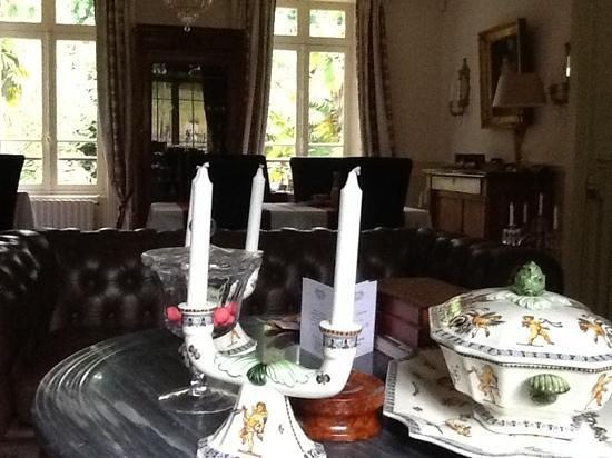 Domaine de Moulin Mer : le salon