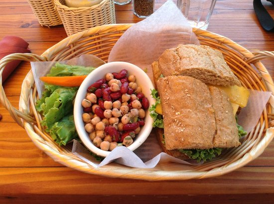 Nepenthe : Veggie Burger
