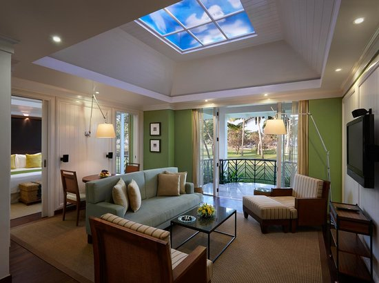 Caravela Beach Resort: Presidential Villa - Sitting Room