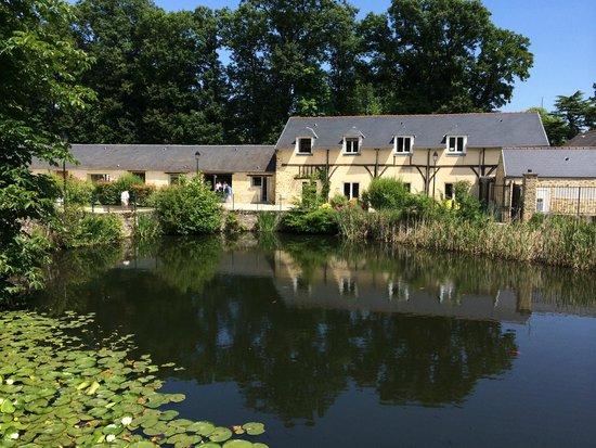 Auberge du Manet: Vue de la terrasse