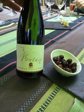 Auberge du Manet: Wine ½ bouteille