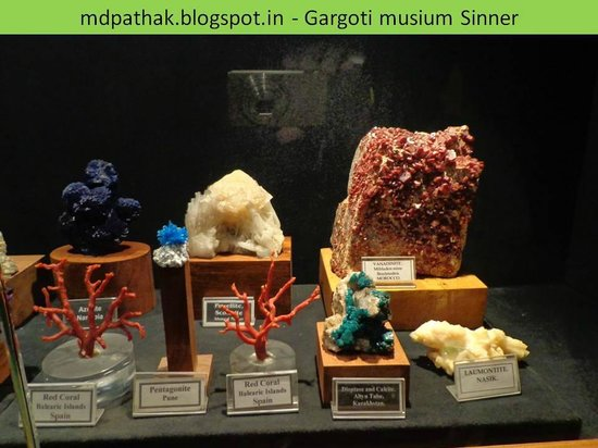 Gargoti Mineral Museum: red coral Balearic Islands Spain