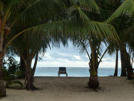 The Rarotongan Beach Resort & Spa: beatiful view from our beachfront room