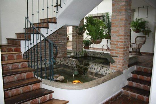 Posada Casa Sol: acceso habitaciones piso superior