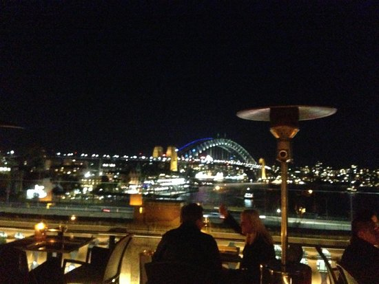 Cafe Sydney: View 2 from our table