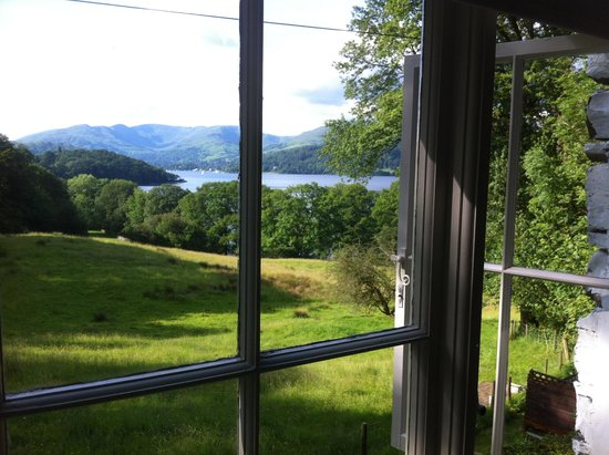 Slack Cottage: view form the room