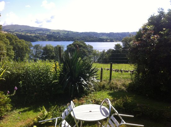 Slack Cottage: view from the garden
