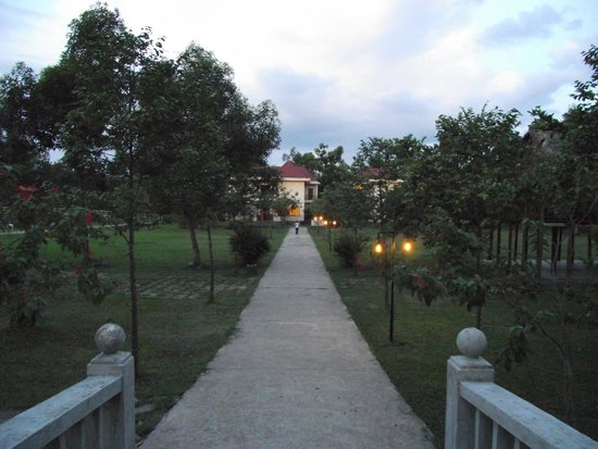 Path leading to my room