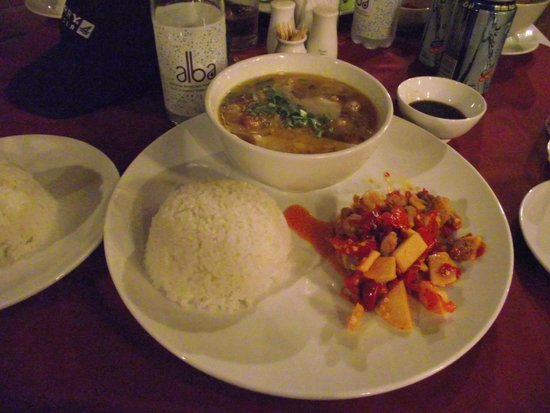 Alba Hot Springs Resort: Pork with Bamboo Shoots and Chili