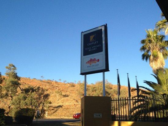 Chifley Alice Springs Resort : Chifley entrance