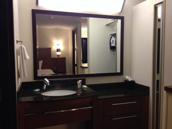 Separate Toilet/Shower in Bathroom Area - Picture of Hyatt ...