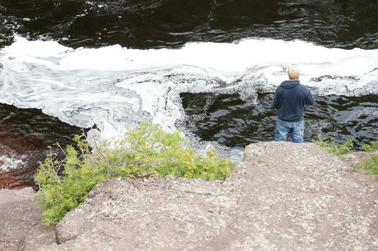 Temperance River State Park: Local fisher