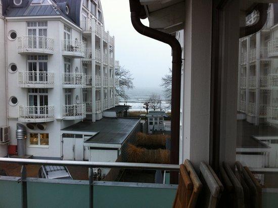 Strandhotel Binz: Ausblick