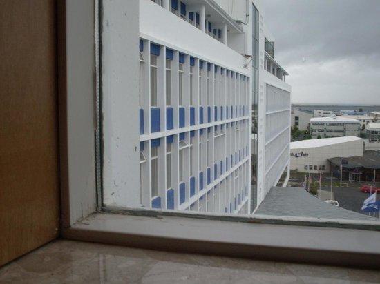 Radisson Blu Saga Hotel, Reykjavik: Blick aus dem Fenster