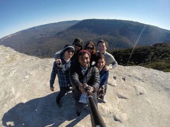 Anderson's Tours - Blue Mountains Day Tour: Our amazing tour guide Sasha & us I