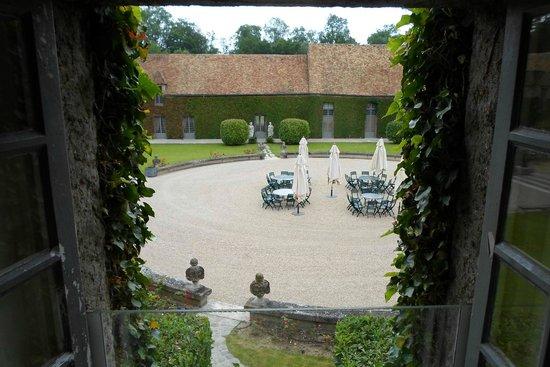 Chateau de Villiers le Mahieu: Vue de la chambre n°20