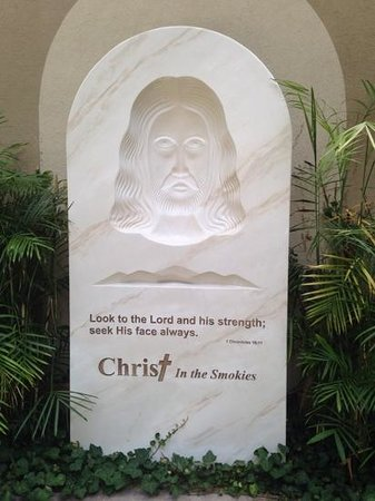 Christ in the Smokies Museum & Gardens: He is always watching over you