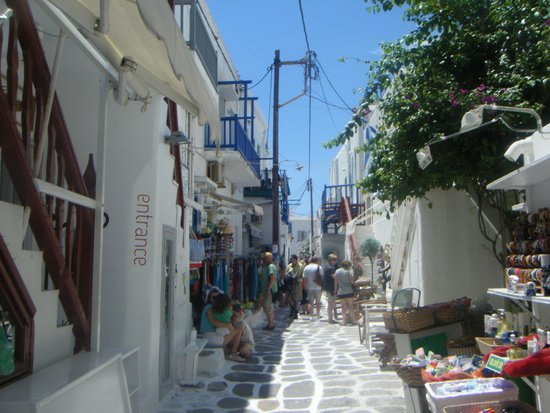 Hotel Lady Anna : Mykonos town , easy to get lost,  lol