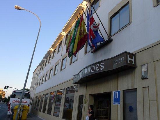 Hotel Averroes: 入り口