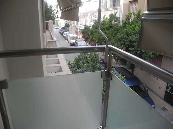 Phidias Hotel : View from balcony