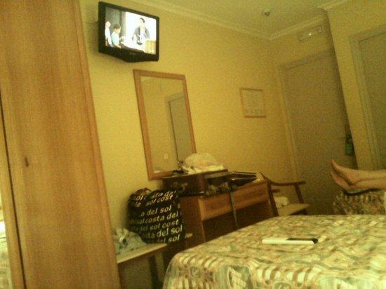 Hotel Patilla : Habitacion