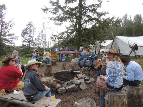 Black Mountain Ranch : Camp Dinner
