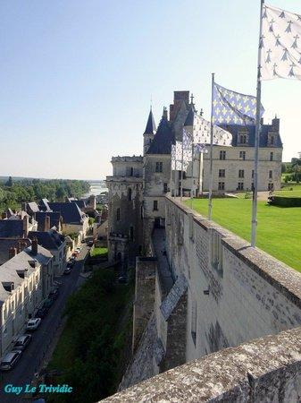 Chateau d'Amboise: Vue sur les remparts