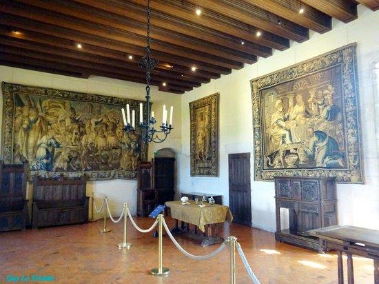 Chateau d'Amboise: Une des nombreuses pièces visitables