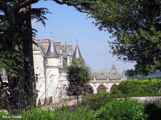 Chateau d'Amboise: Près de la sortie