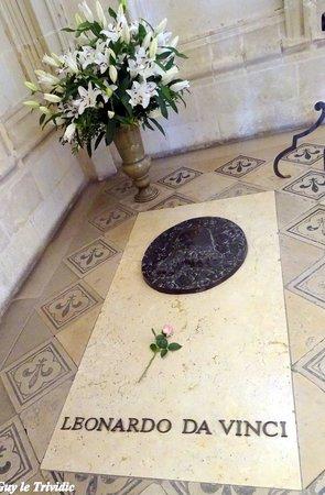 Chateau d'Amboise: La tombe de Léonard de Vinci