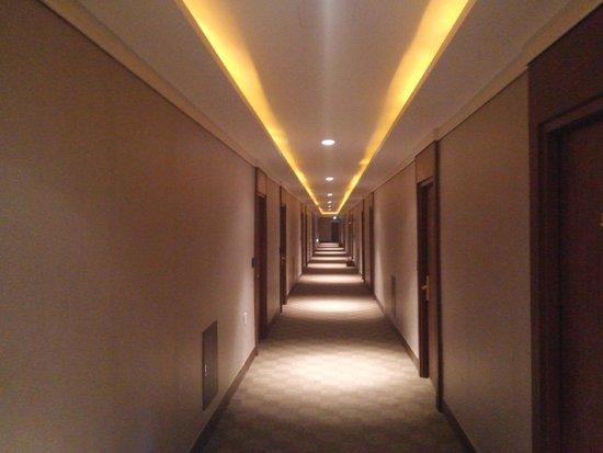 Benikea Hotel susung: hallway