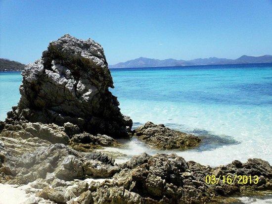 Bulog Island: Rock Formation