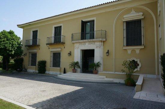 Hotel Villa Jerez: Eingang