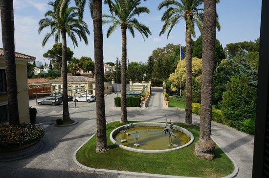 Hotel Villa Jerez: Die Einfahrt