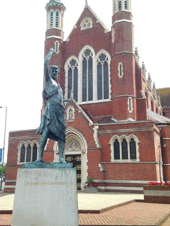 St John's Catholic Cathedral: Statue of St John