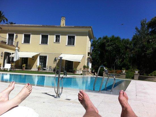 Hotel Villa Jerez: Der Pool