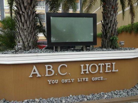 ABC Hotel: 表です。