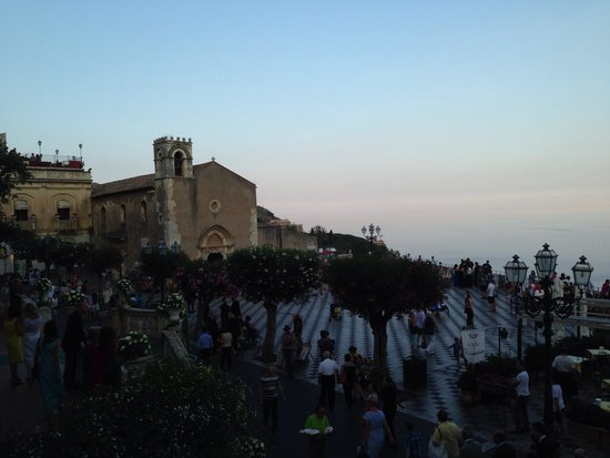 Restaurant Cinque Archi: The view