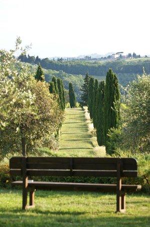 Salvadonica - Borgo Agrituristico del Chianti : Garten