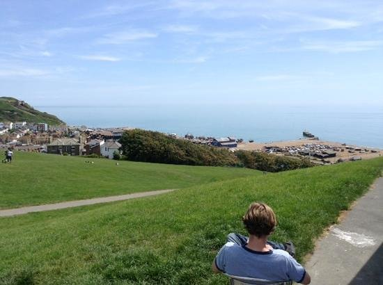 Combe Haven Holiday Park - Haven: great view