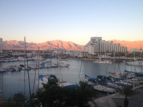 Dan Panorama Eilat : balcony view