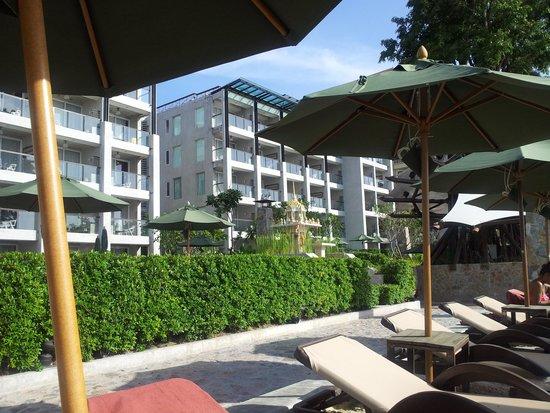 Novotel Pattaya Modus Beachfront Resort: ด้านหน้าโรงแรม