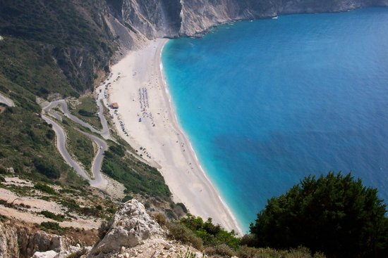 Athina Hotel Myrtos Beach Picture Says It All