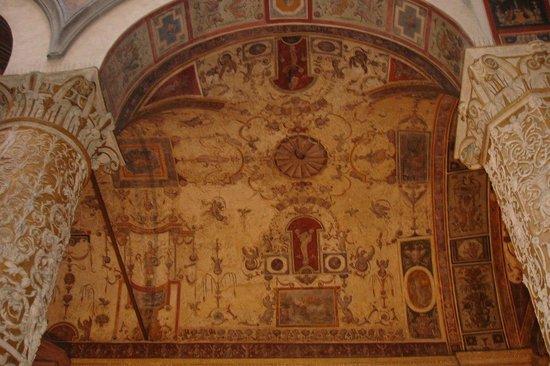 Museo di Palazzo Vecchio: Росписи в стиле гротесков можно рассматривать часами