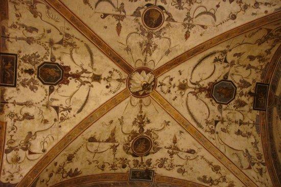 Museo di Palazzo Vecchio: Гротески на потолках и стенах