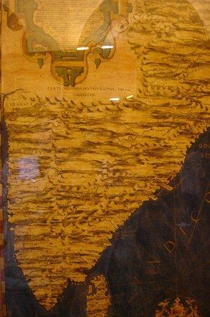 Museo di Palazzo Vecchio: Географические карты!