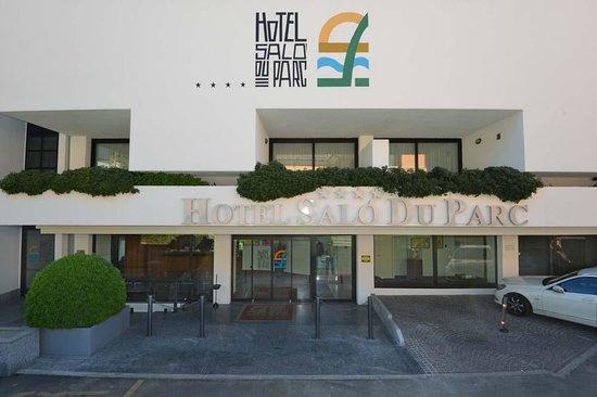 Salo' du Parc Hotel: Ingresso hotel
